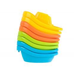 Farebné lodičky do kúpeľa