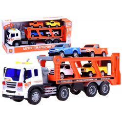 Kamión s autíčkami