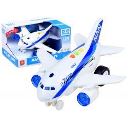 Interaktívne lietadlo so zvukom
