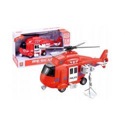 Vrtuľník so zvukom