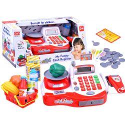 Pokladňa vybavená kalkulačkou