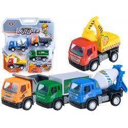 Set stavebných autíčok