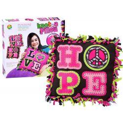 Urob si: farebný vankúš HOPE