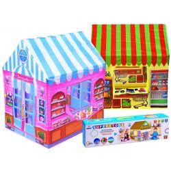 Detský záhradný stan – cukráreň, obchod