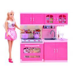 Anlily bábika s kuchynkou
