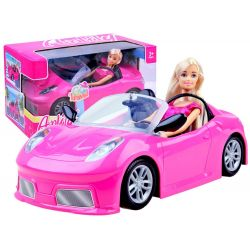 Anlily bábika s ružovým kabrioletom