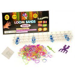 Loom Band gumičky - súprava na tkanie náramkov