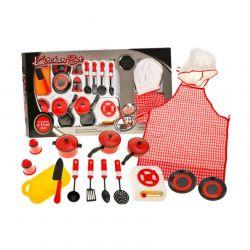 Kuchynský set so zásterou