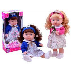 Krásna hovoriaca bábika s čelenkou