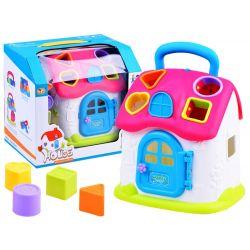 Interaktívny domček s farebnými kockami