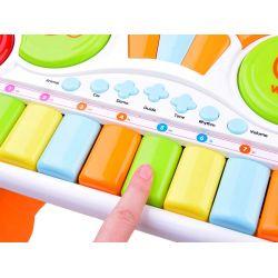 Interaktívne, farebné piano pre najmenších