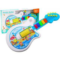 Interaktívna gitara – hrá, svieti, 18m+