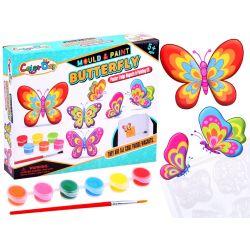 Urob si: magnetky motýle