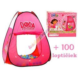Stan s loptičkami, Ružový Dora