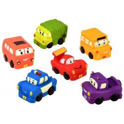 Gumené autíčka – hračky do kúpeľa