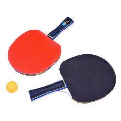 Zostava pre stolný tenis, rakety, sieťka a loptičky