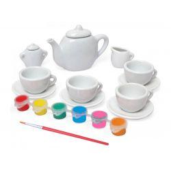 Urob si: čajový set