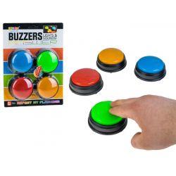 BUZZERS –farebné zvukové tlačidlá