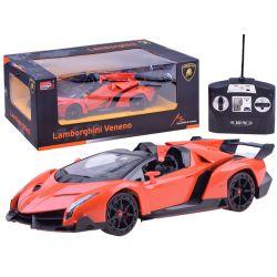 Lamborghini Veneno na diaľkové ovládanie, originálna licencia, 2 farby
