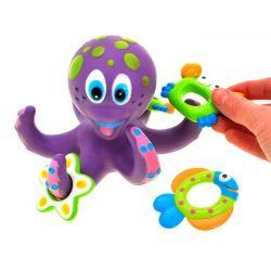 Veselá chobotnica do kúpeľa so zvieratkami