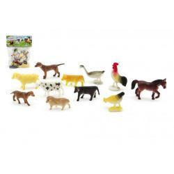 Domáce zvieratká, farma 12 ks