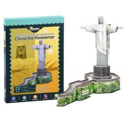 Socha Ježiša z Rio de Janeiro, 3d puzzle 22 dielov