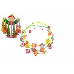 Drevené korálky – náhrdelník