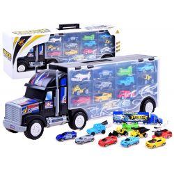 Kamión s autíčkami, angličáky