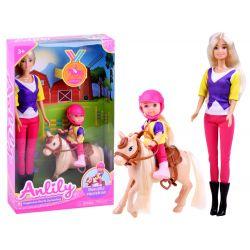 Anlily 2 bábiky s poníkom