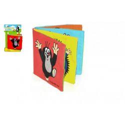 Textilná šuštiaca knižka Krtko 10x10cm