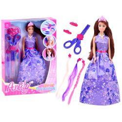 Anlily rozprávková bábika s kaderníckou zostavou, 2 farby