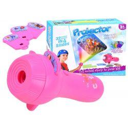 Detský projektor na kreslenie – baterka, 2 farby, 32 obrázkov