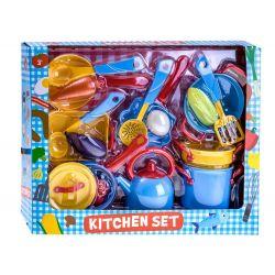 Sada kuchynského náčinia, 18 dielov