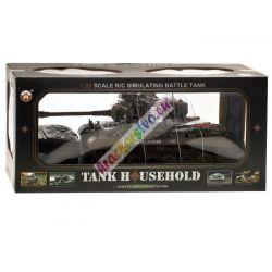 Veľký bojový tank Snow LEOPARD, 1:20, strieľa guličky