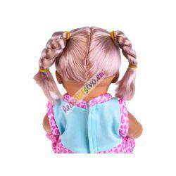 Hovoriaca bábika v detskom nosiči, ciká, 18m+