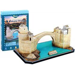3D puzzle Starý most v Mostare, 64 dielov