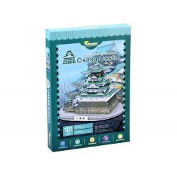 3D puzzle Zámok Osaka, 101 dielov