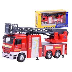 Kovové hasičské auto