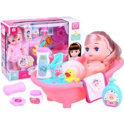 Bábika s vaňou a doplnkami