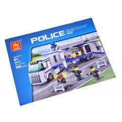 Stavebnica Polícia 395 častí