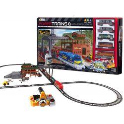 Nákladný vlak + koľajnice + píla 457cm