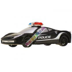 Policajné autíčko na diaľkové ovládanie + diaľkové v tvare volantu