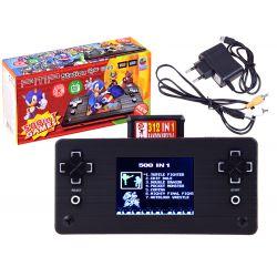 Elektronická herná konzola +pripojenie k TV, 3 farby