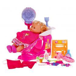 Veľký kadernícky salón + bábika