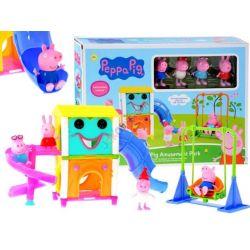 Peppa Pig – Farebné ihrisko s postavičkami Prasiatko Peppa