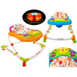 Detské nastaviteľné chodítko s interaktívnym panelom, 2 farby