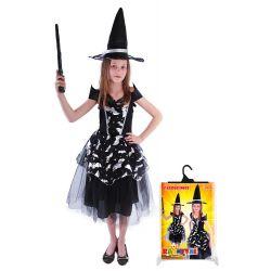 Kostým čarodejnica Netopierka S