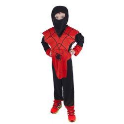 Kostým Ninja červený S