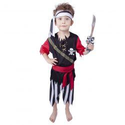 Kostým Pirát so šatkou S