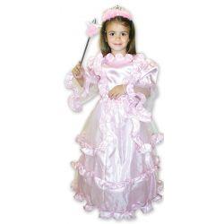 Kostým Princezná ružová M